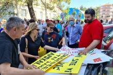<p>Фото: Иван Петровић Ипе (са протеста)</p>