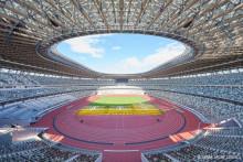<p>Олимпијски стадион у Токију</p>