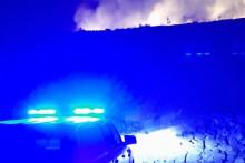 <p>Ватрогасци ПГ (акција гашења пожара)</p>
