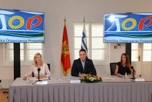 <p>Вуковић на конференцији</p>