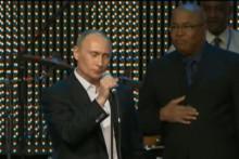 <p>Путин појева на енглеском</p>