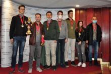 <p>Црногорски шахисти</p>