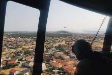 <p>Два хеликоптера Војске помагала при гашењу пожара на Горици</p>