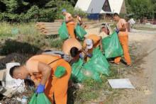 <p>Акција чишћења на Веруши</p>
