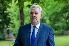 <p>Премијер Здравко Кривокапић</p>
