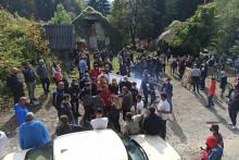 <p>Са јучерашњег протеста</p>