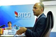 <p>Savjet Radio televizije Crne Gore izbor generalnog direktora,kandidat Boris Raonic</p>