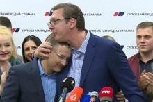 <p>Стефановић и Вучић</p>