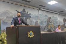 <p>предсjедник Клуба одборника Демократа Момчило Лековић</p>