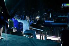 <p>Георгиев на концерту</p>
