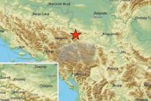 <p>Епицентар земљотреса</p>