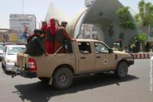 <p>Талибани у Херату</p>