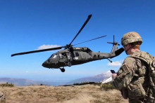 <p>Војска САД на Косову</p>