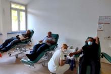 <p>Добровољни даваоци крви</p>