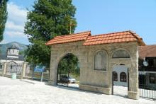 <p>Нова ограда на Спомен - парку Књажевац</p>