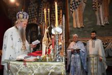 <p>Владика Јоаникије у манастиру Морача</p>