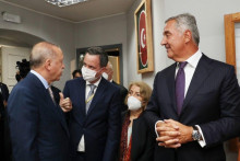 <p>Ердоган и Ђукановић</p>