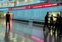 <p>Евакуисан аеродром</p>