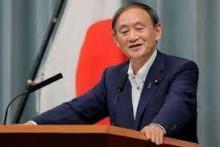 <p>Премијер Јошихиде Суга</p>