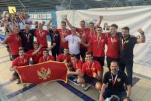 <p>Црногорски репрезентативци окићени бронзом</p>