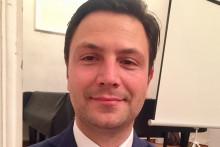 <p>Андро Радуловић, директор Поморског музеја у Котору</p>