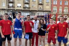 <p>Млади црногорски боксери у Суботици</p>