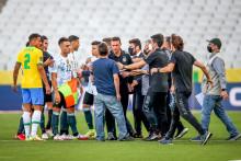 <p>Са меча Бразил-Аргентина</p>