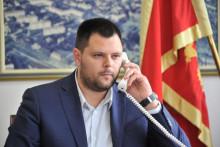 <p>Марко Ковачевић, предсједник Општине Никшић</p>