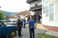 <p>Мјештани приведени у станицу полиције</p>
