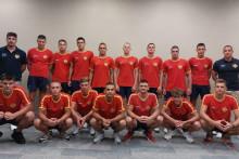 <p>Млађа јуниорска репрезентација Црне Горе</p>