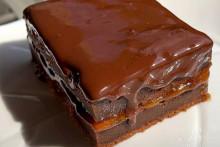 <p>чоколадни колач</p>