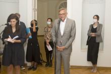 <p>Њемачки амбасадор Вебер говорио на отварању</p>