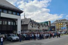 <p>Protest na Žabljaku</p>