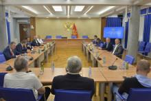 <p>Састанак парламентарне већине</p>