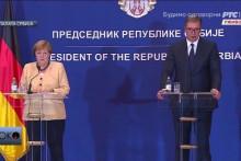 <p>Меркел и Вучић</p>