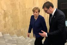 <p>Меркел боравила у посјети Београду</p>