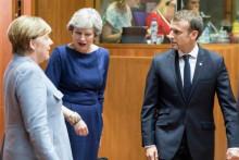 <p>Меркел, Меј и Макрон (архивска фотографија)</p>