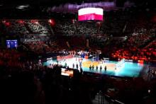 <p>Са меча Пољска - Словенија</p>