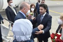 <p>Са дочека Ердогана</p>