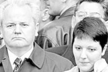 <p>Слободан и Марија Милошевић</p>