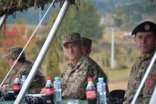 <p>Начелник Ђуровић присуствовао вјежби</p>