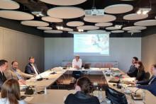 <p>Са састанка са представницима из Њемачке</p>