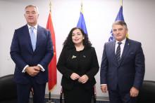 <p>Ђукановић, Османи и Комшић</p>
