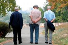 <p>Пензионери у шетњи (илустрација)</p>