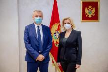 <p>Јован Бурар и Јелена Боровинић Бојовић</p>