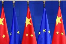 <p>ЕУ и Кина</p>