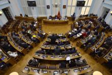 <p>Скупштина у блокади због бојкота дијела посланика</p>