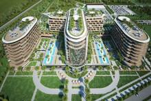 <p>Планирани изглед Лико Сохо хотела</p>