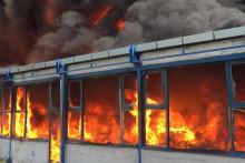 <p>Пожар у шабачкој фирми под контролом</p>