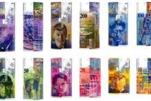 <p>Стара, осма серија швајцарских франака</p>